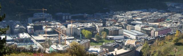 Escaldes und Andorra la Vella